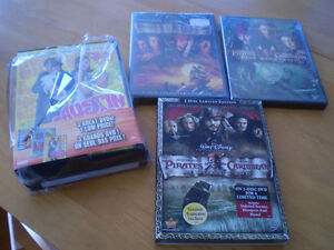AUSTIN POWERS, PIRATES OF THE CARIBBEAN  BOX SETS NEW