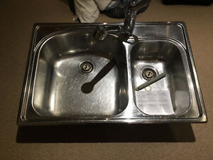 Blanco Sink with Moen Faucet, in Amazing Condition!