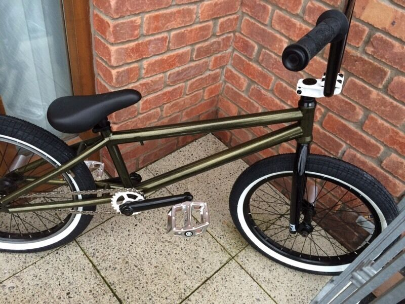 Custom wethepeople bmx bike stunt bicycle jump mtb custom builtin Belfast City Centre, BelfastGumtree - CUSTOM WETHEPEOPLE BMXIN GREAT WORKING CONDITION ready to ridein really good condition, minor scratches here and thereGREAT ADVANCED LEVEL BIKEFREE UK NEXT DAY POSTAGELots of new parts fittedbrake can be fitted free if needed, just ask when...