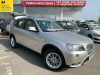 2012 BMW X3 XDRIVE30d SE FULL SERVICE HISTORY Auto ESTATE Diesel Automatic