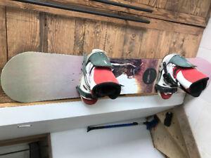 Planche à neige - snowboard
