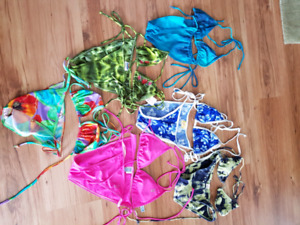 Lot of 6 bikinis
