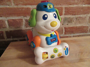 VTech Skippy the Smart Pup with remote control bone