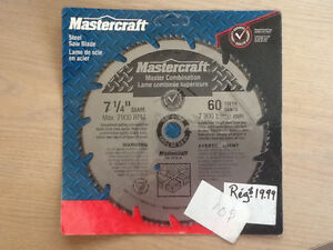 Mastercraft Steel Saw Blade Master Combination