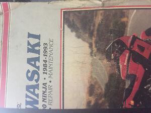 Kawasaki ninja 84-93 manual