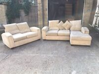 2x sofa + L shape, Free delivery