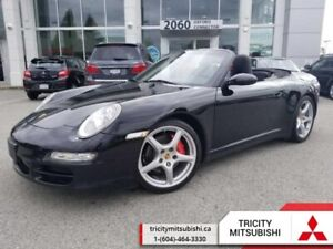 2008 Porsche 911 CARRERA 4S  LEATHER-CONVERTIBLE-MANUAL