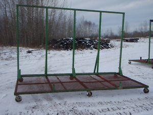 Material cart with support for windows Edmonton Edmonton Area image 2