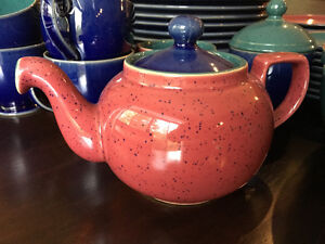Denby Harlequin set of fifty pieces - Used but in amazing shape! Kitchener / Waterloo Kitchener Area image 3