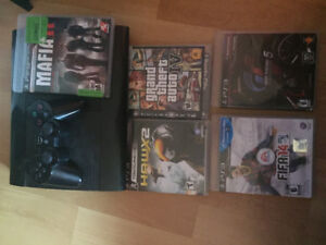 PS3 with games and all accessories