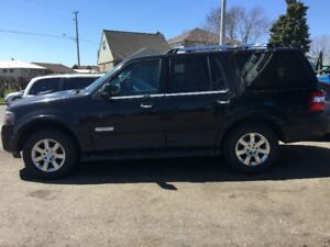 Ford Expedition 2007 Limited,   on propane and Gas dual system