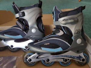 K2 Women's Roller Skates sz 8.5 still in box