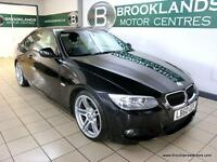 BMW 3 SERIES 320i M SPORT COUPE AUTO [SAT NAV, LEATHER, HEATED SEATS and 19 ALLO