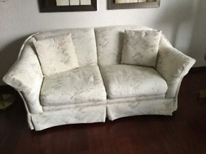 Chesterfield and loveseat- excellent condition