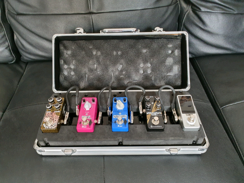 Pedal board and five pedals | in Coventry, West Midlands | Gumtree