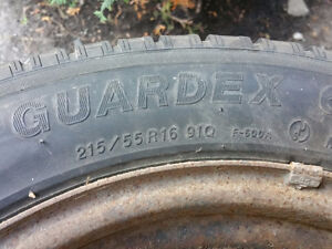 16 inch 4 tires on rims maxima infinity etc West Island Greater Montréal image 8