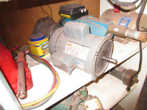 auger drive motor and gear box