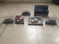 1/43 Model cars, 2 x R5 maxi turbos Impreza WRC, Sapphire Cosworth