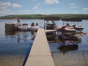 Starr Dock Sections and boat lifts.