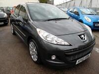 2012 12 Peugeot 207 1.6HDi 112 Allure 5 Door Diesel Top of the Range £30 Rd Tax