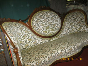 Victorian sofa and chairs