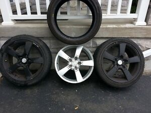 OEM RX8 RIMS WITH FREE TIRES