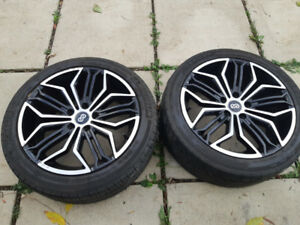 Enkei rims and tires