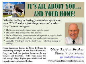 "Gary Taylor - Your ""Deal Maker"" Agent in Wiarton & on the Bruce"