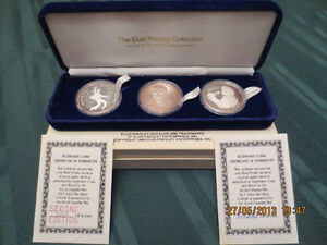 Elvis Silver Coins very rare/Pièces d'argent d'Elvis très rare