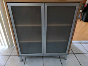 Ikea Frosted Glass Door Kitchen Cabinet