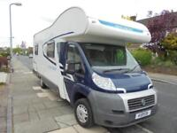 2011, SWIFT ESCAPE 686, REAR LOUNGE, 6 BERTH, 6 SEAT BELTS, LOW MILEAGE