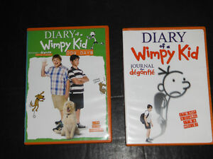 Diary of a Wimpy Kid dvds