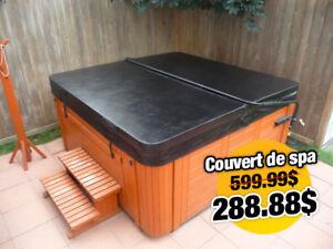 Couvert de remplacement pour spa! Livraison partout au Québec!