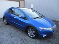 2007 Honda Civic 1.8 i VTEC EX 5dr i SHIFT Auto automatic 5 door Hatchback