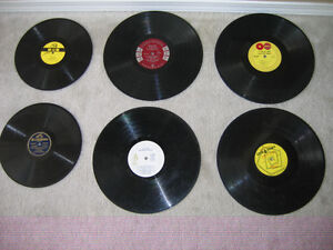 Vintage Collection of Vinyl 78's and LP's