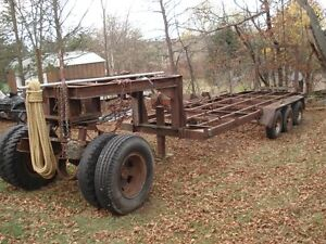 trailer with 5th wheel dolly