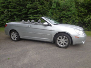 2008 Chrysler Sebring  LTD, decapot. argent Coupé (2 portes)