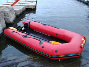 ZODIAC INFLATABLE BOAT- 10ft - GOOD/FAIR CONDITION