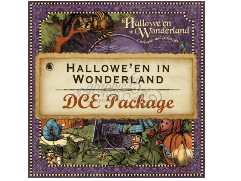 Graphic 45 G45 Halloween In Wonderland Deluxe Collectors Edition