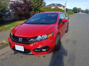 15 Civic Si Lease Transfer (Will pay for 3 months)