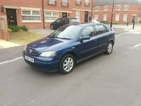 2004 VAUXHALL ASTRA 1.6 ACTIVE BLUE 54K MILES