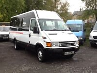 2003 iveco daily 2.8 td 6 speed 17 seat minibus coif test