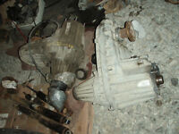 Dodge Cummins transfer cases, 2003 to 2012, NV and BW 5500