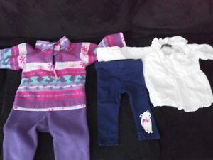 Vêtements bébé fille 6-9 et 6-12 mois