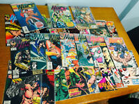 Lot de 25 comics de Namor : The Sub Mariner
