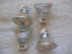 4 halogen light bulbs