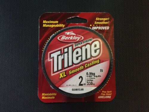 Berkley Trilene XL Filler 0.011-Inch Diameter Fishing Line,