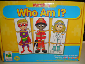 "THE LEARNING JOURNEY ""MATCH IT WHO AM I?"" - 20 PUZZLE SETS X 3"