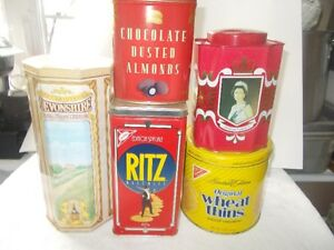 25 COLLECTORS TINS FOR SALE