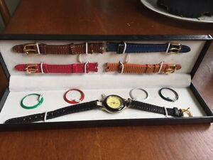 Vintage exchangeable watch set